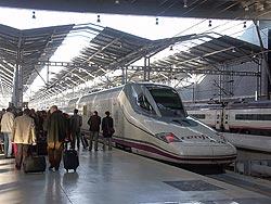 AVE Train Station in Malaga
