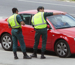 Guardia Civil in Spain