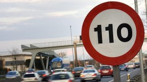Speed limit in Spain 110 km/h