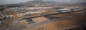 Malaga airport runaway